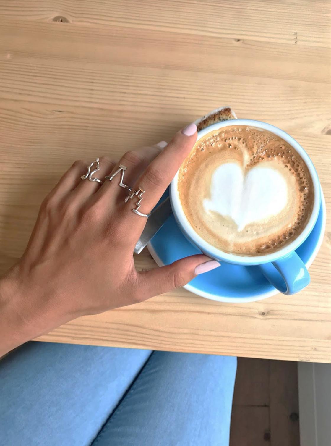 rings Amsterdam coffee cup Analogie