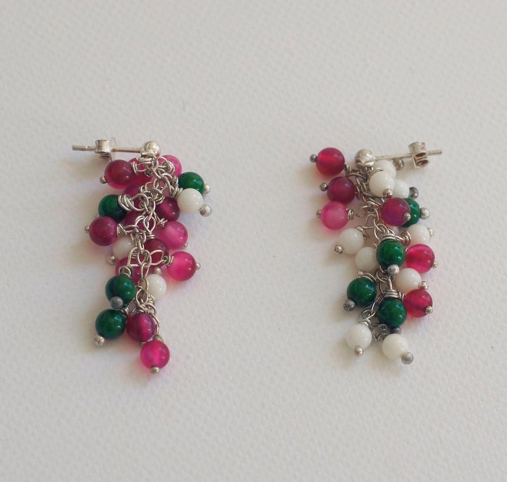 Petunia Flower Earrings