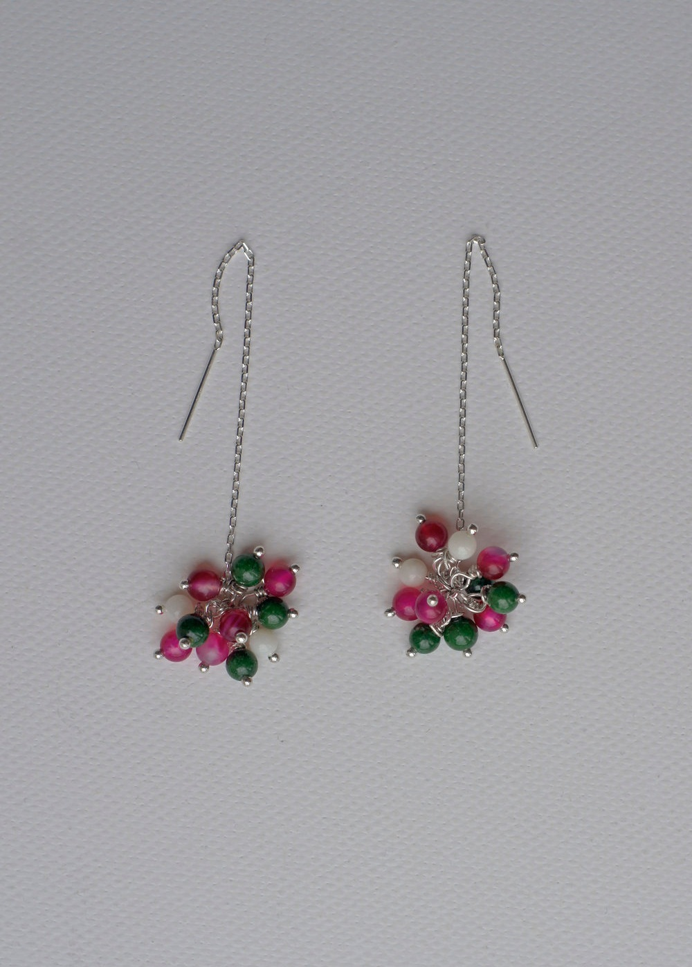 Petunia Pull-through Earrings