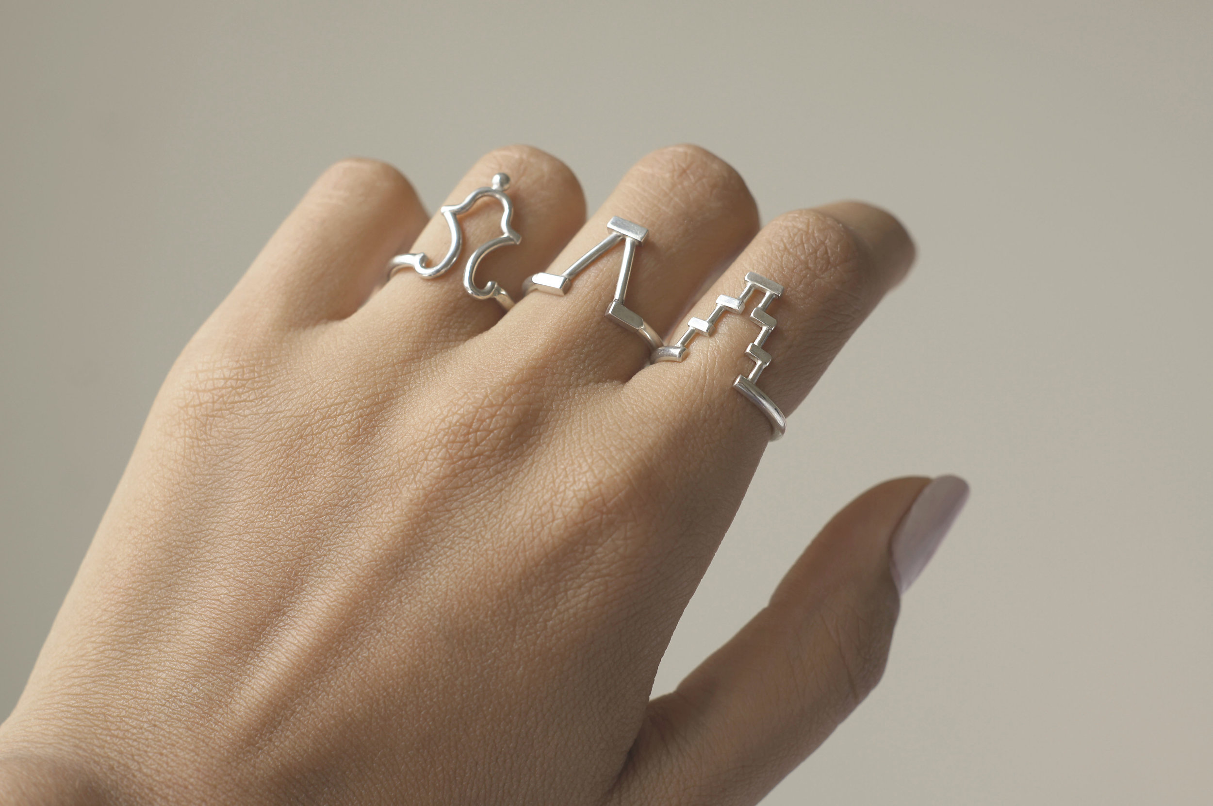 Step, Bell & Spout Gable Rings