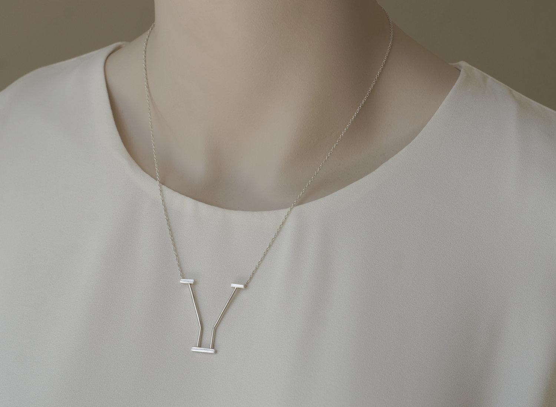 Spout Gable Necklace
