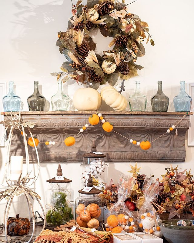 Get ready for Fall!  Today thru Sunday enjoy 15% off any one item (certain exclusions apply) and treat yourself to a new Fall happy!  New jewelry, candles and home decor have arrived this week!!