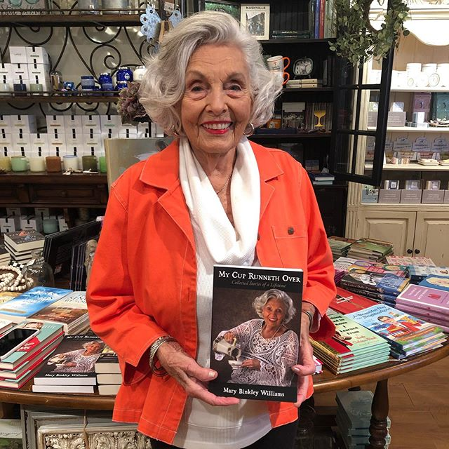 We loved Mary Binkley Williams stopping in the visit the other day!! Join us in wishing her a very happy 95th birthday!!