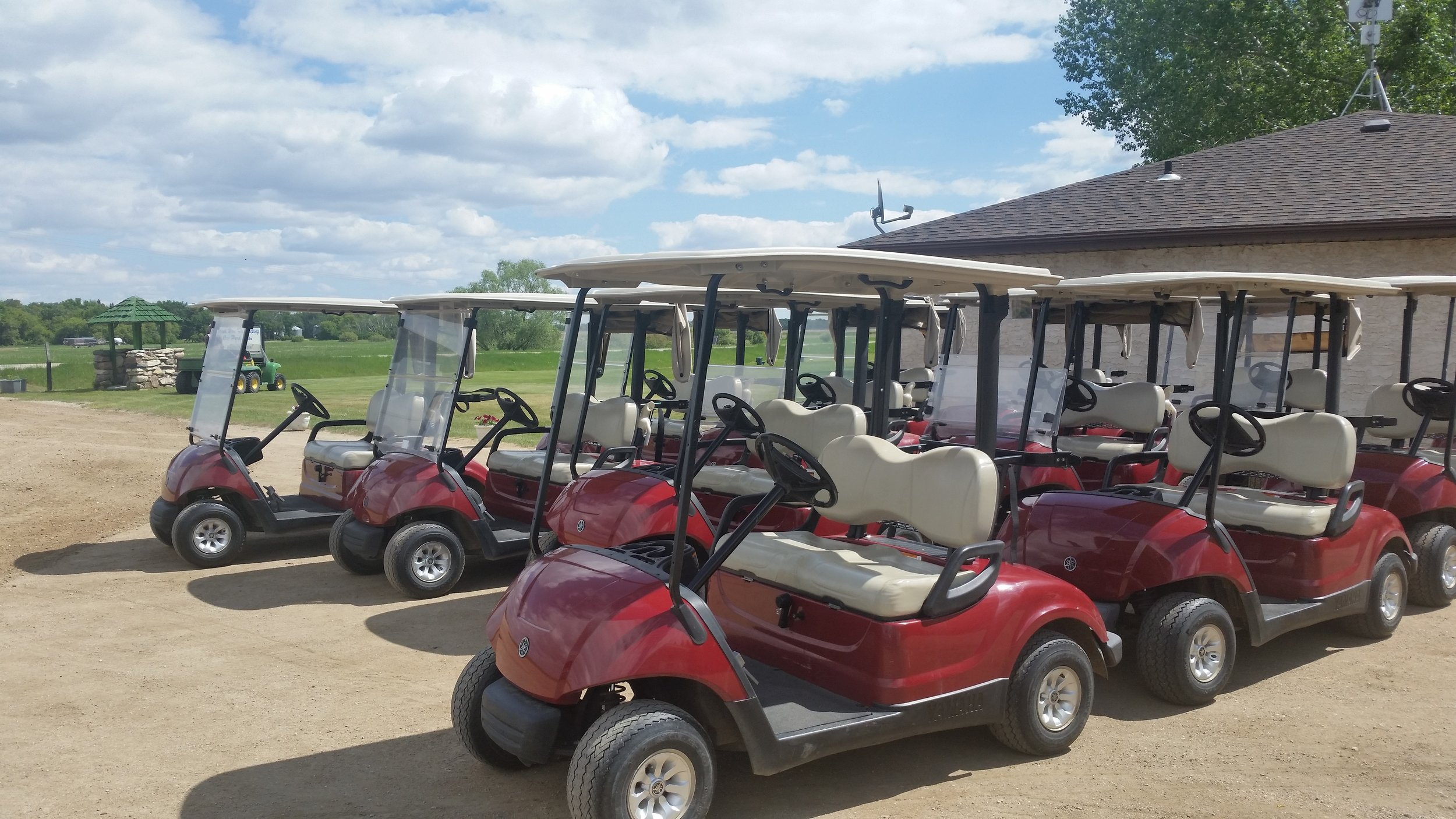 - We have 25 gas carts for rent.