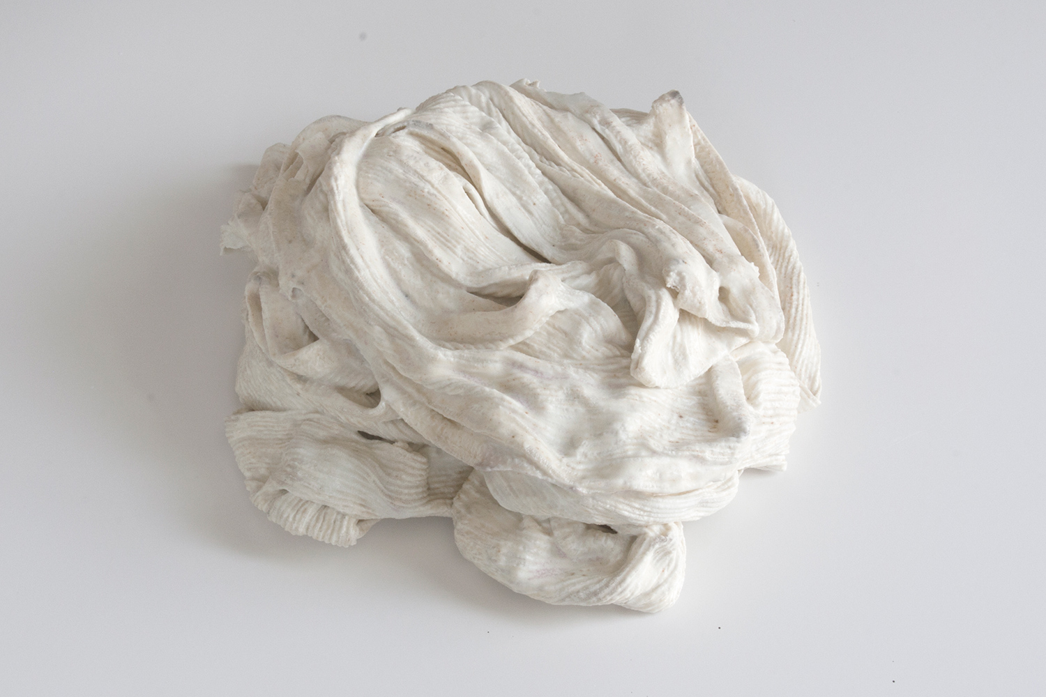 Hold Me Back   2015 glazed porcelain 7 x 7 x 2.5 inches