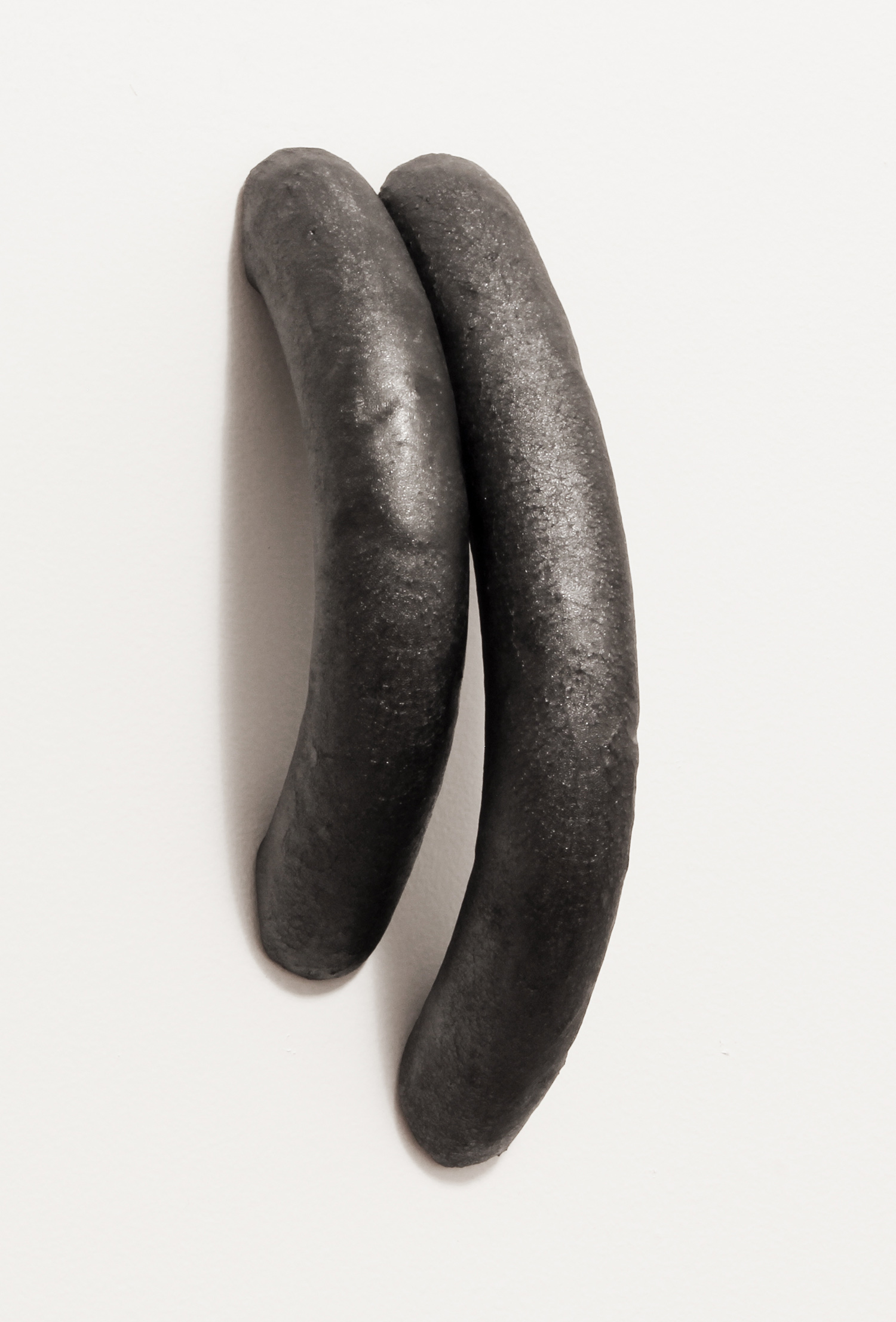 It Takes Two   2015 glazed ceramic 3.5 x 11.5 x 4 inches