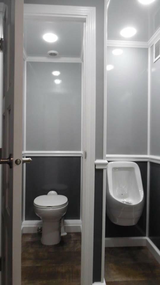 2 Double Mobile Restroom Suites