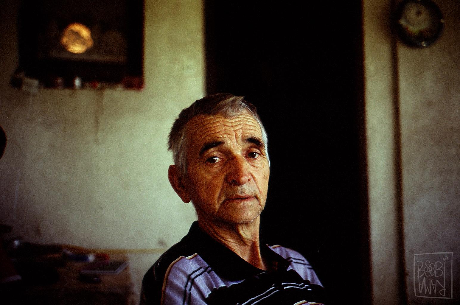 Elderly man in Čačak