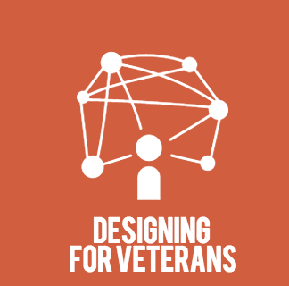 Programmed spaces for Veterans working in a university setting.