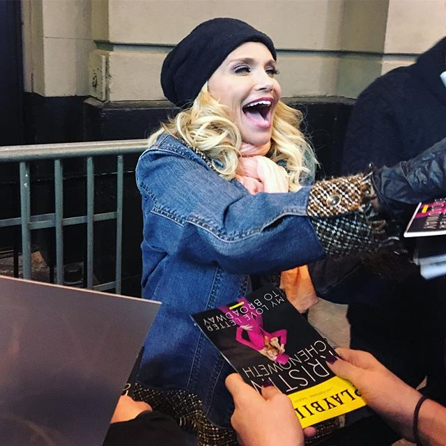 Moments before THE Kristen Chenoweth signed my playbill and told me how cute I was!! My dreams came true today after listening to her sing Popular on the Wicked album since falling in love with the show in grade school to hearing her sing it live in her Broadway concert! #kristenchenoweth #mylovelettertobroadway #inspiration #popular #broadway #broadwaydreams #nyc