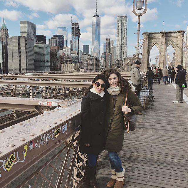 Touristing in NYC! #brooklynbridge #newyorkcity #nyclife #perfectday
