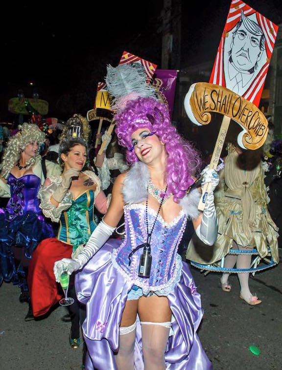 Krewes and Cultural Entourage