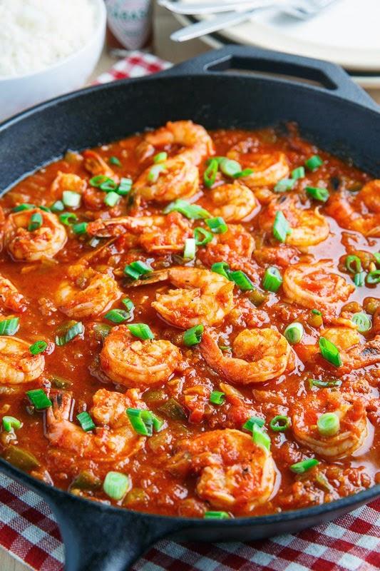Shrimp Creole -Les Crevettes Créole