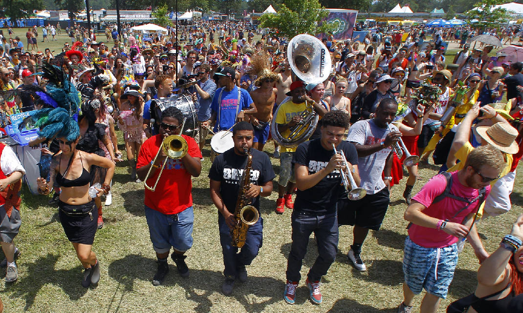 copyright - New Breed Brass Band