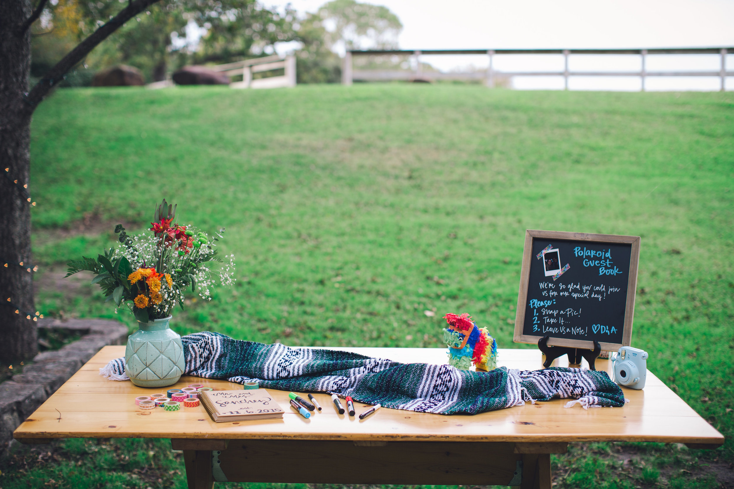 Bohemian Fiesta Themed Wedding at Willow Lake Event Center