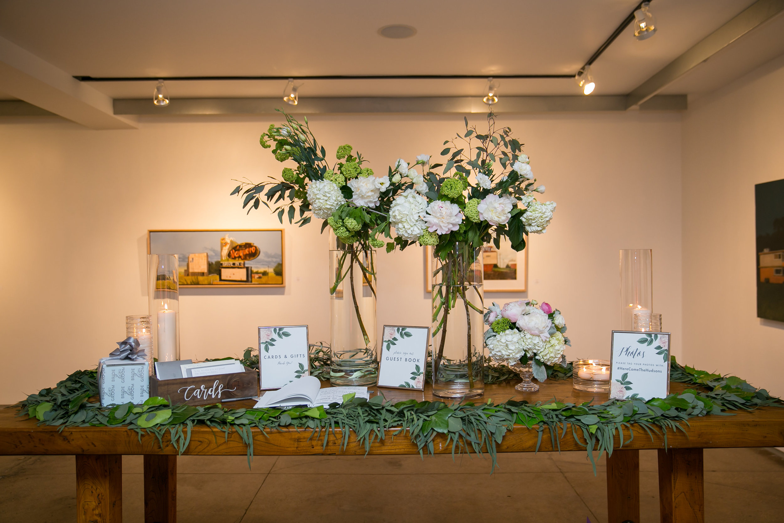 Natural Elegant Wedding at Artspace111 and Robert Carr Chapel