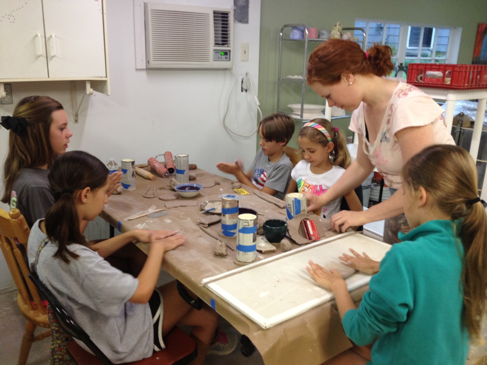Youth Pottery Class - The highlight of the week!