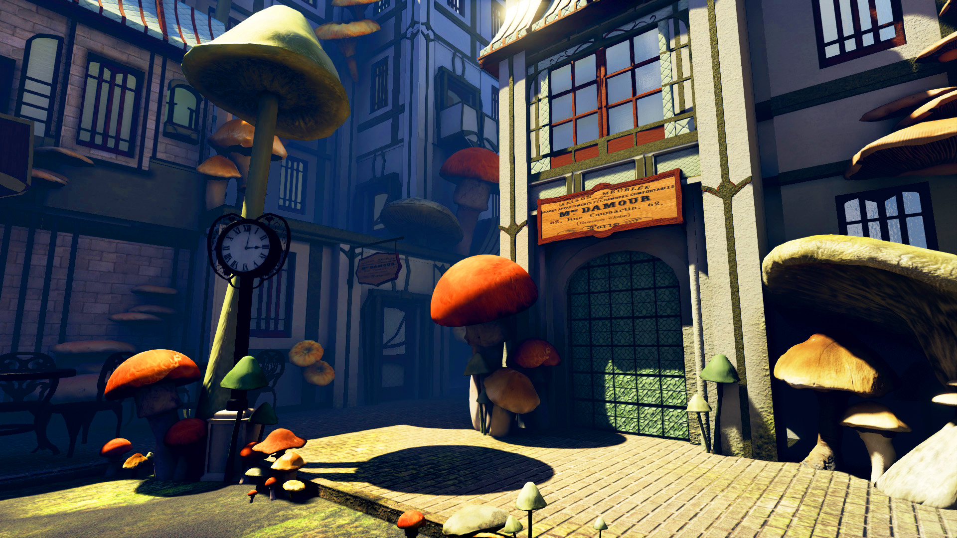 Fungi City -Rendered in realtime in Unreal4 -2014 -Additional assets by class of 2017