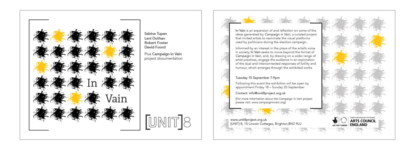 [Unit] 8 Flyer design