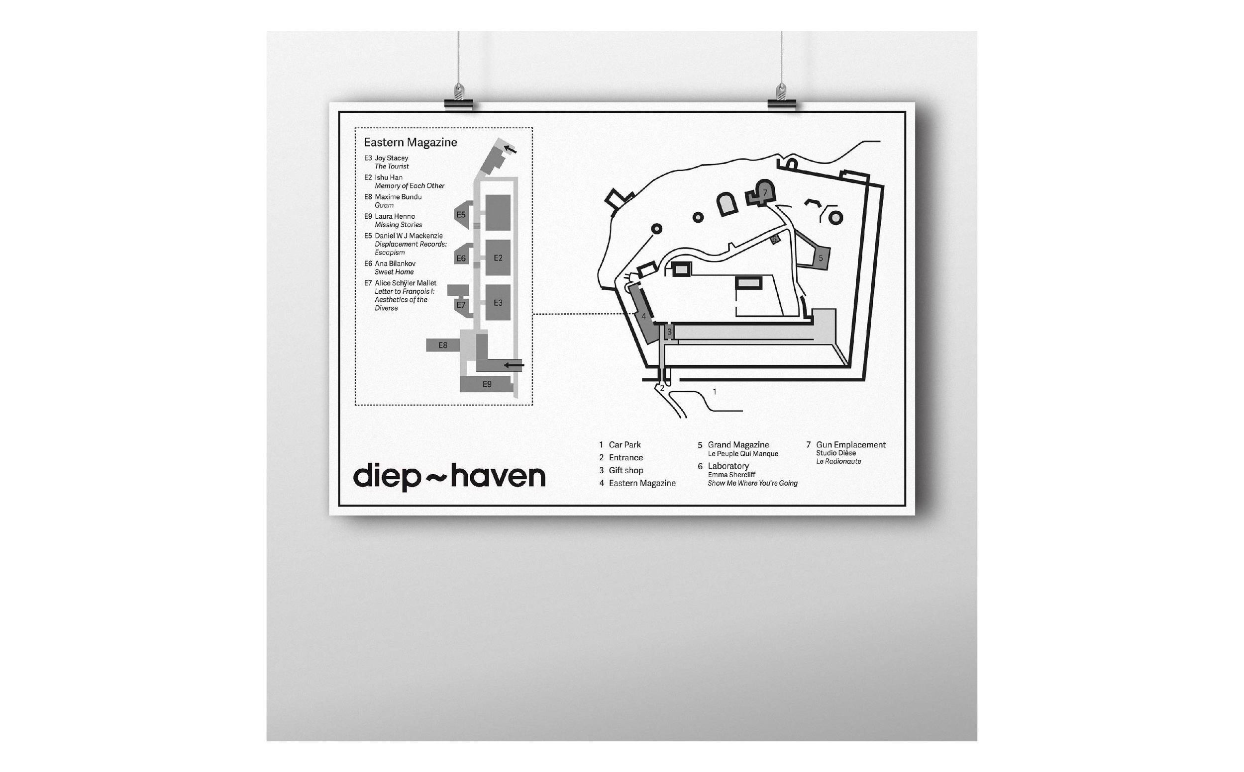 Diep-Haven map poster