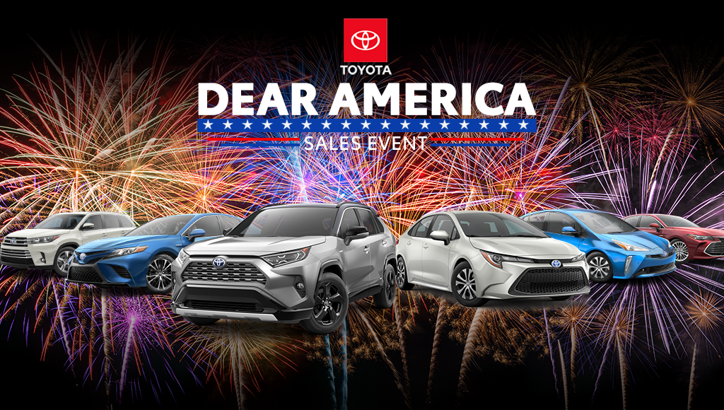 Header image designed for an email for a North Jersey Toyota Dealership.