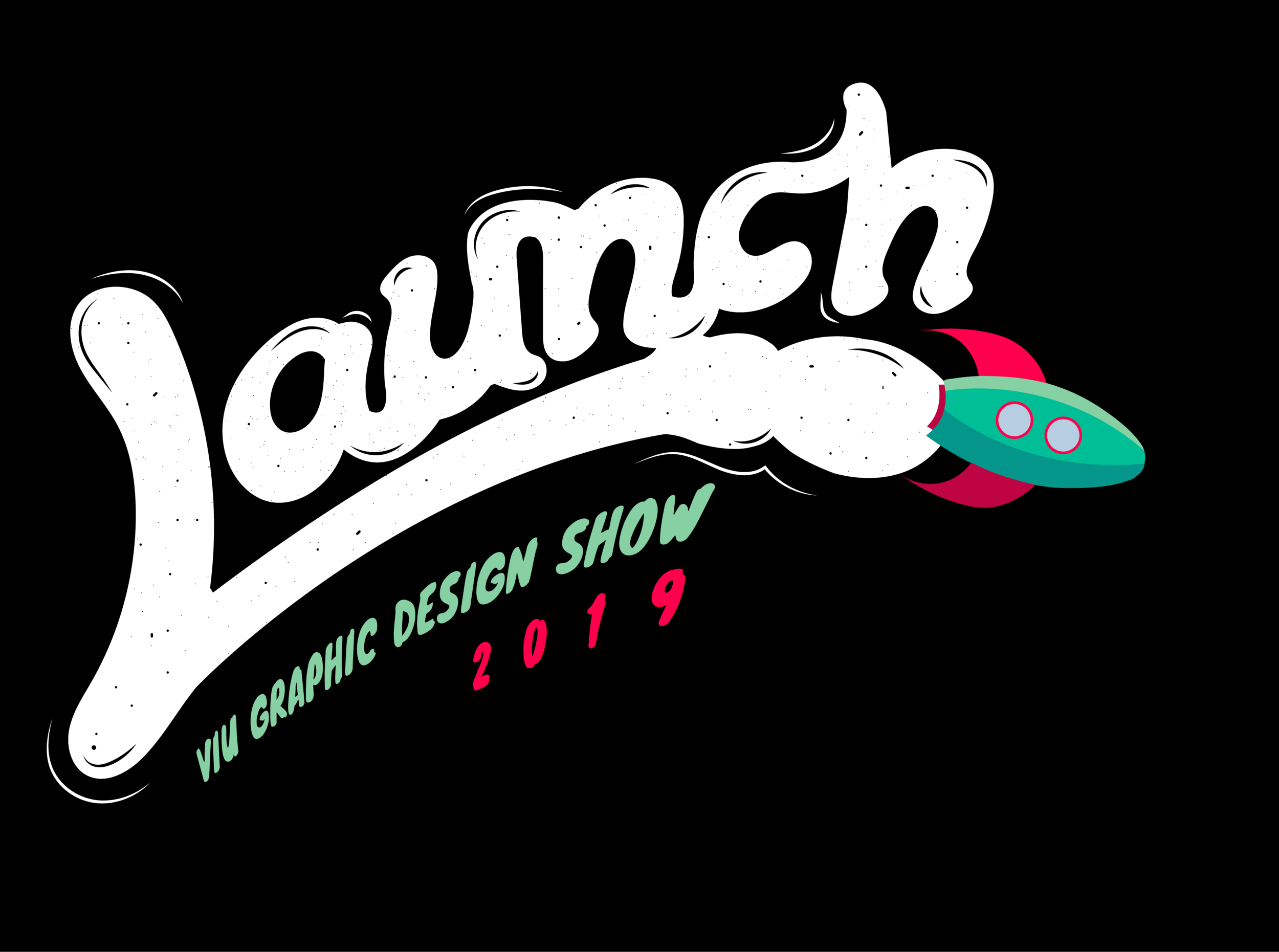 Launch | Possible Visual identity plan for VIU Graphic Design Grad Show