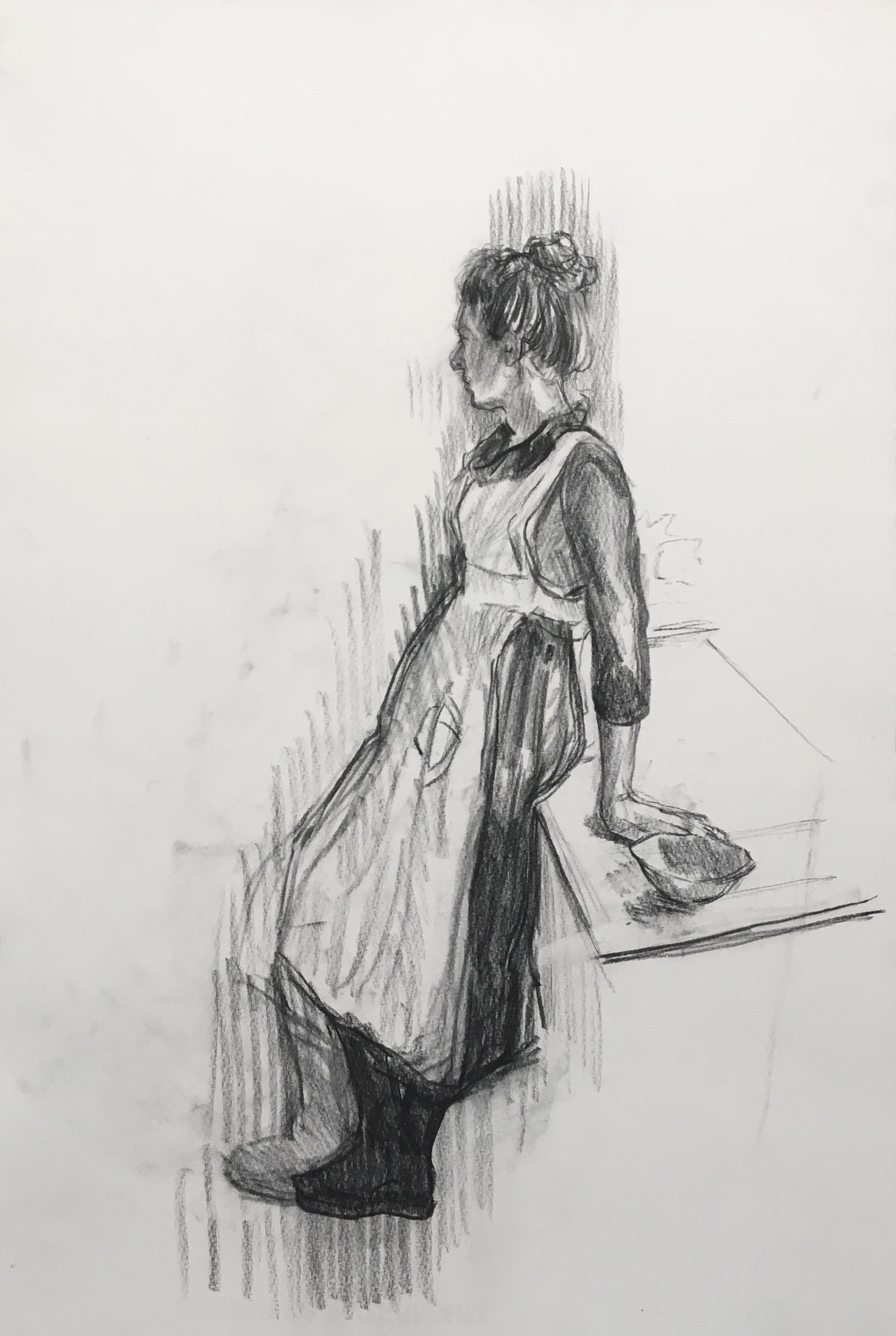 03. Leaning Figure Study (Beth) 56.5x38cms.jpeg