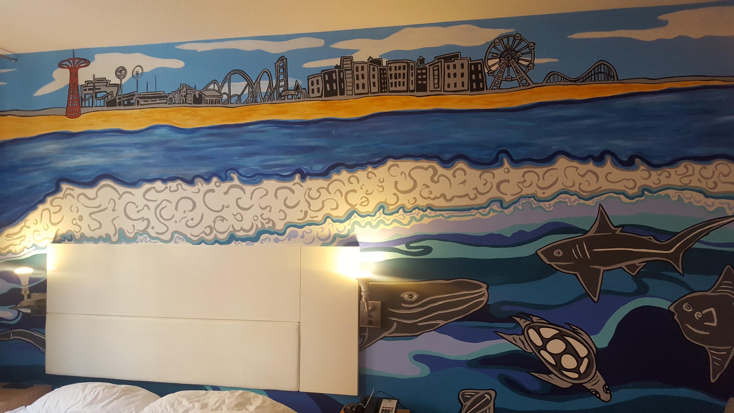 Mural Room 202 NU Hotel