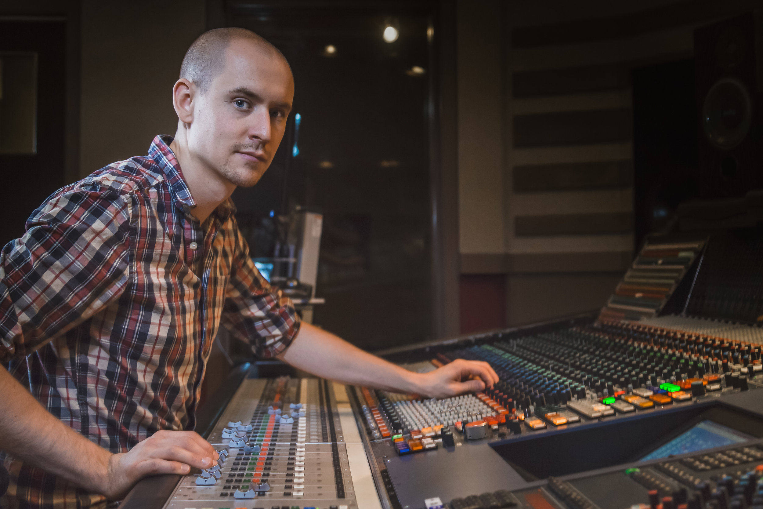 Spencer Mixing Neve 88R