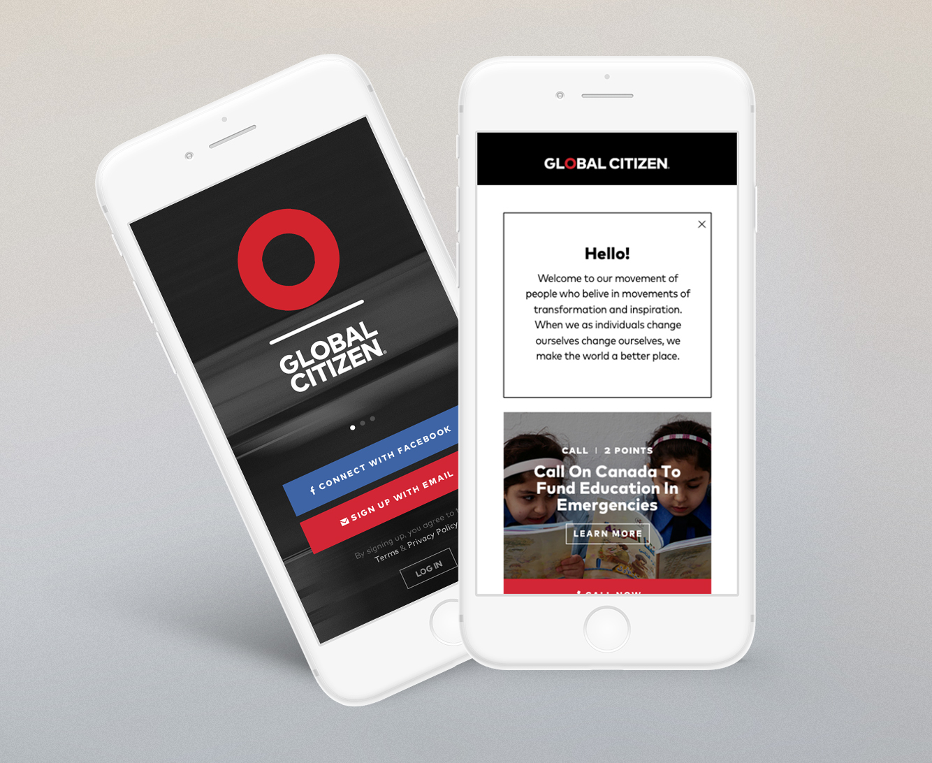 Global Citizen Mobile App
