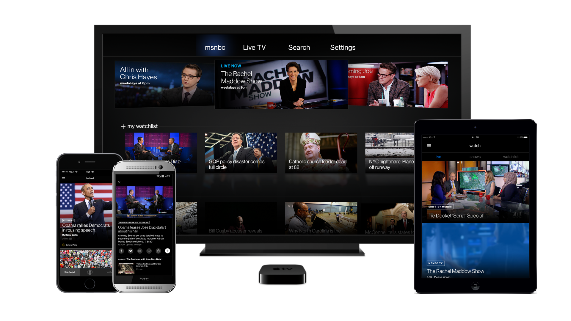 MSNBC App System