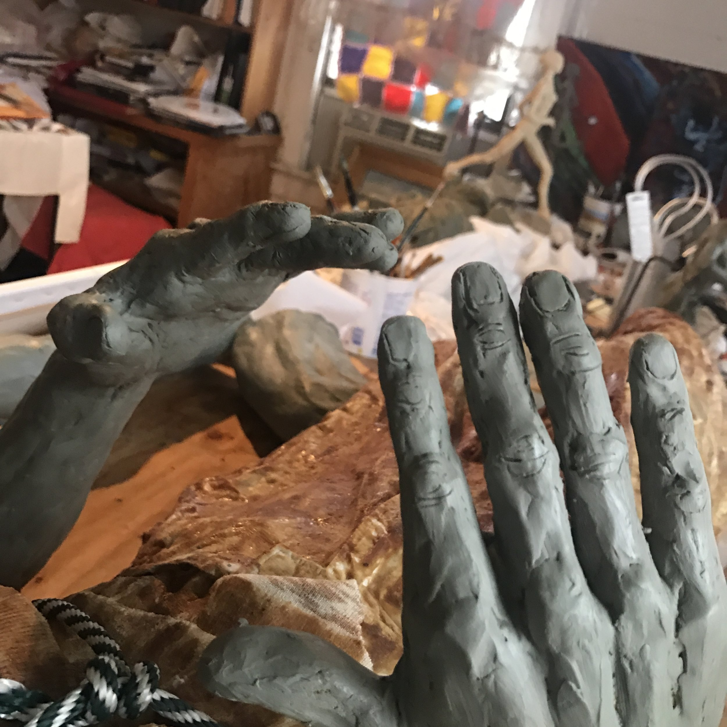 Detail of Hands