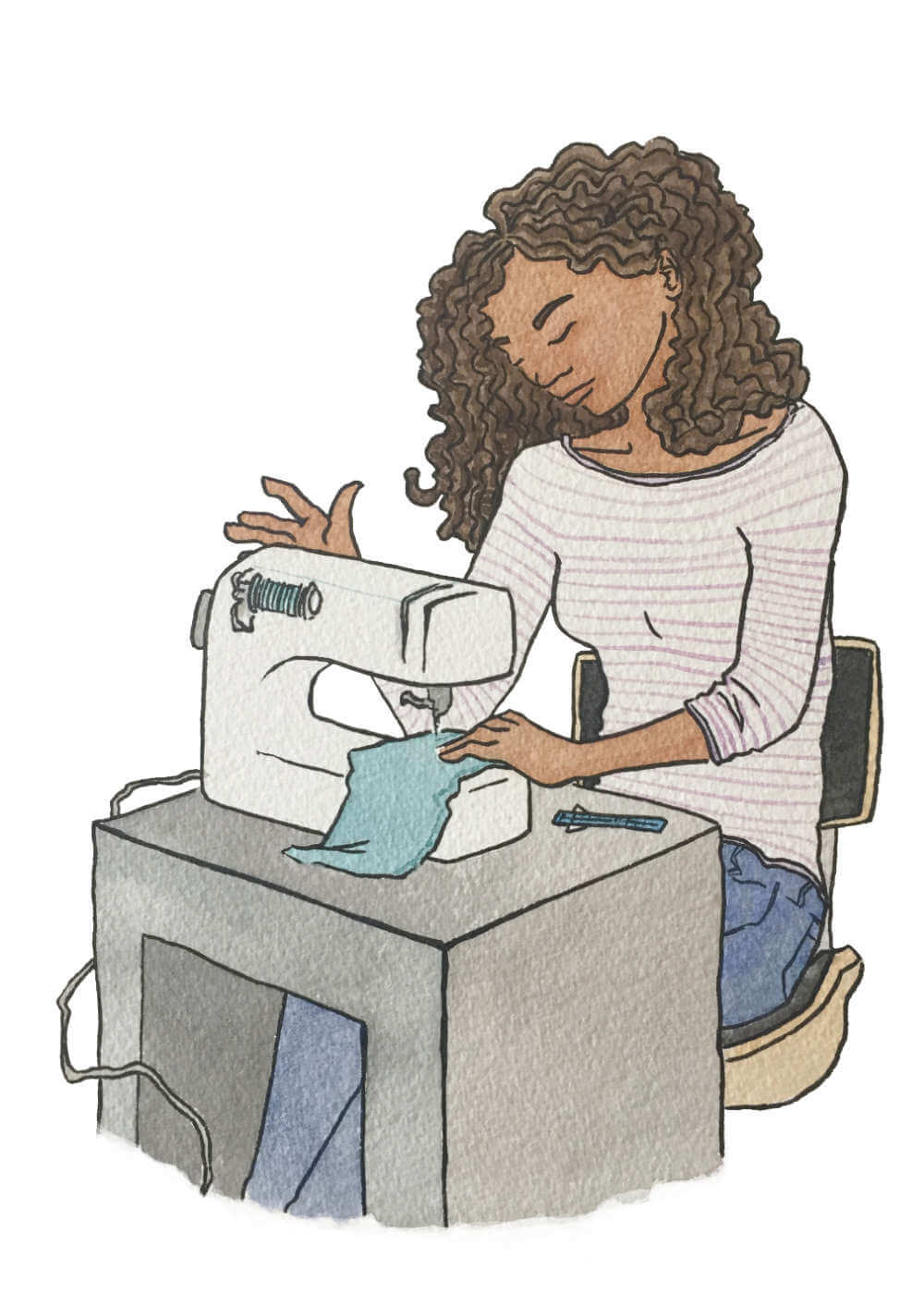 Sew Good - Self care through personal sewing projects.