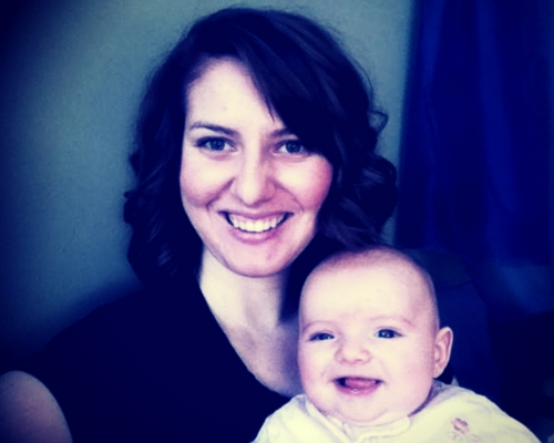 My D-MER babe and I. Breastfeeding was challenging, but it was wonderful sometimes too!
