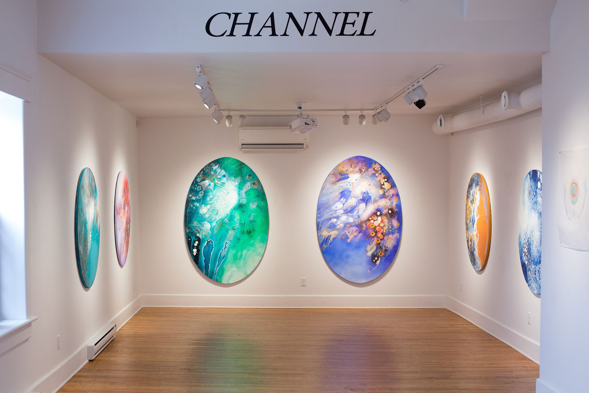 Channel: Conversations with Emma Kunz, AX Centre for Arts and Culture, Sussex, NB (March 2019 - May 5th 2019)