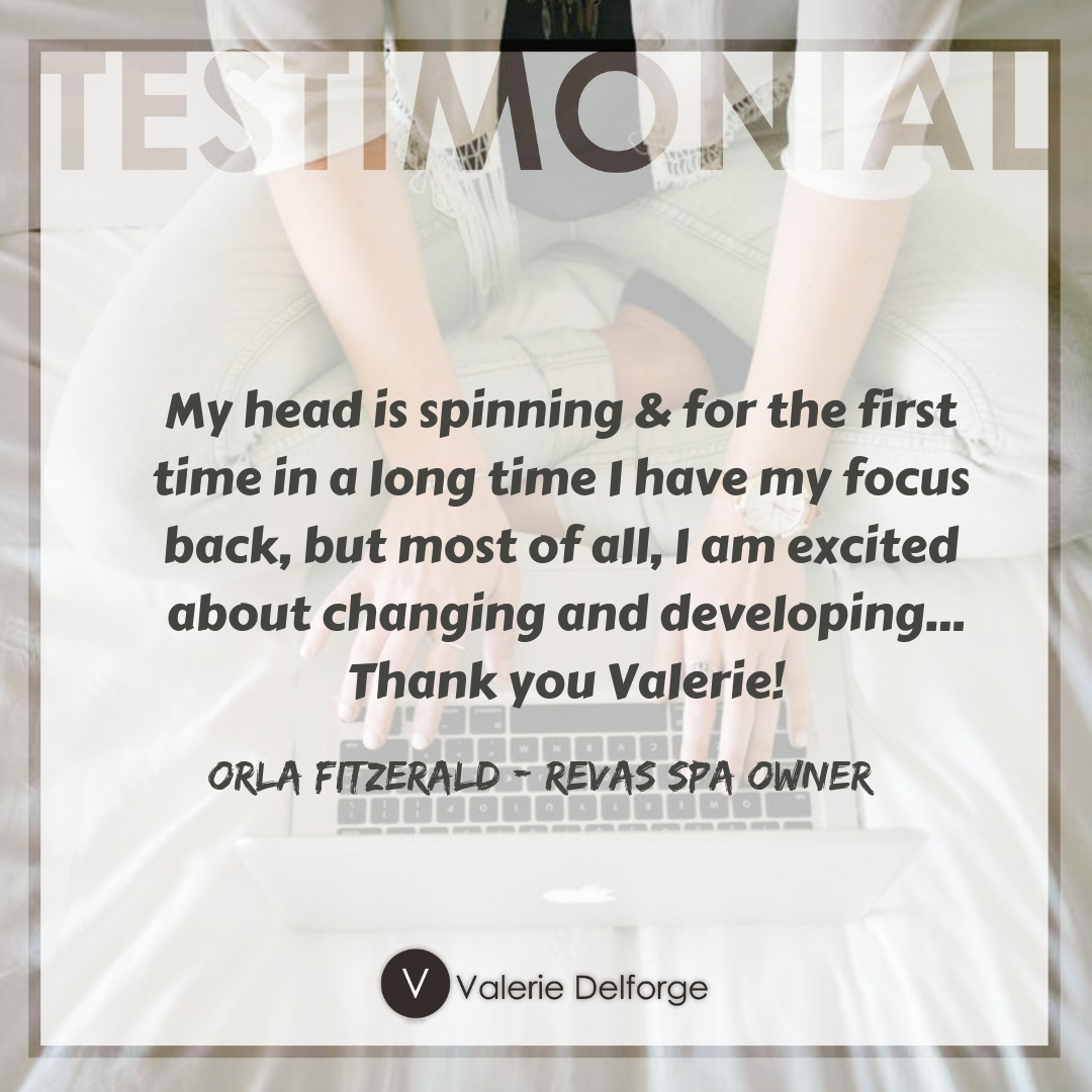 Valerie Delforge Testimonial 1