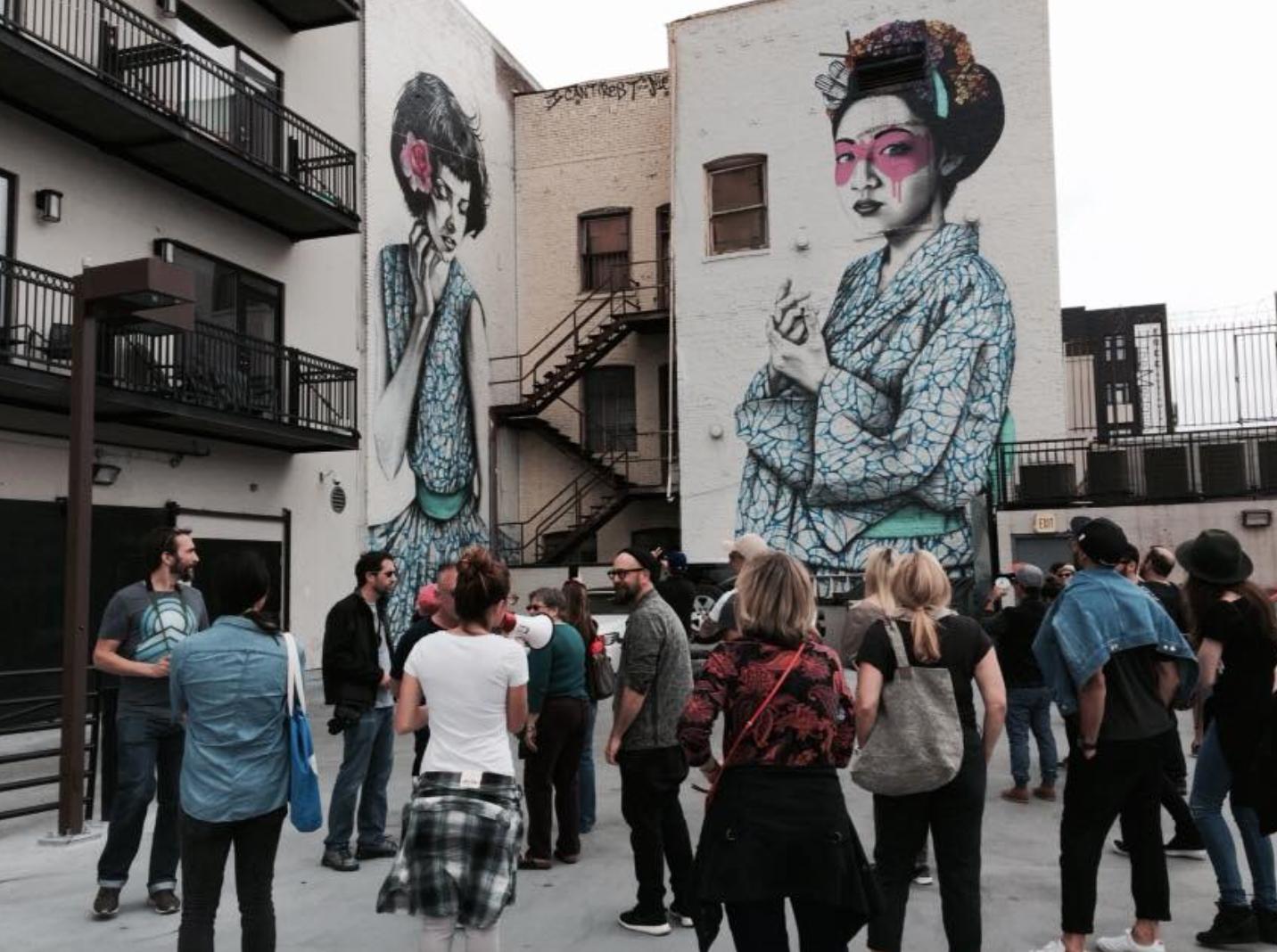 Photo Credit:  Downtown LA Artwalk