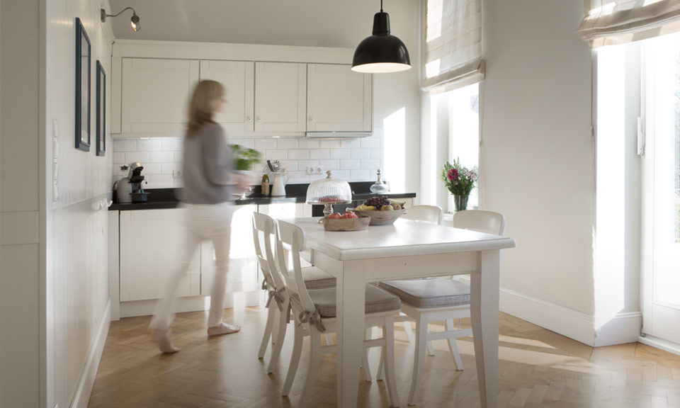 Light and spacious kitchen-diner - ideal for a cosy meal