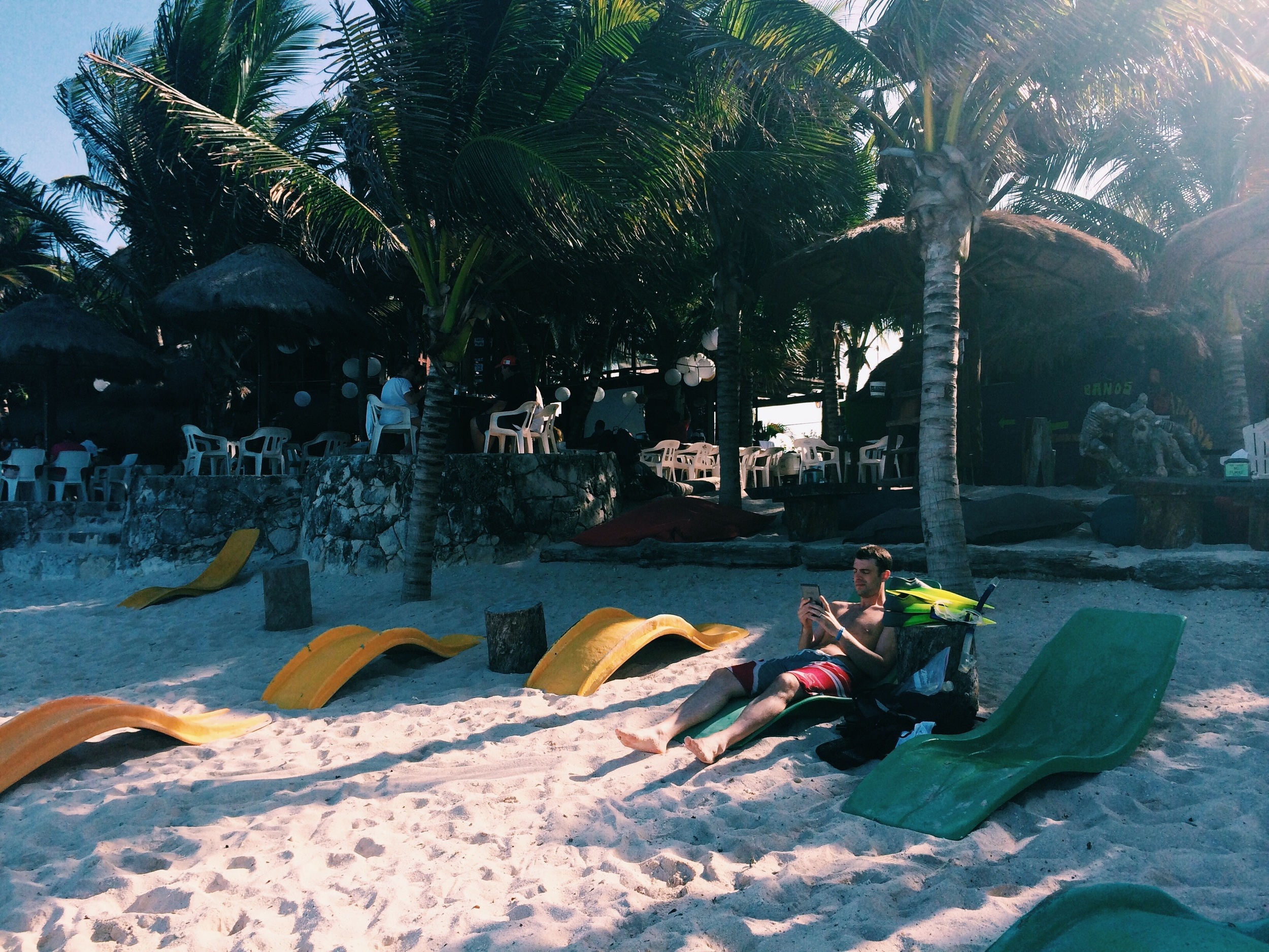 After you eat, take a break before you get in the water to snorkel.