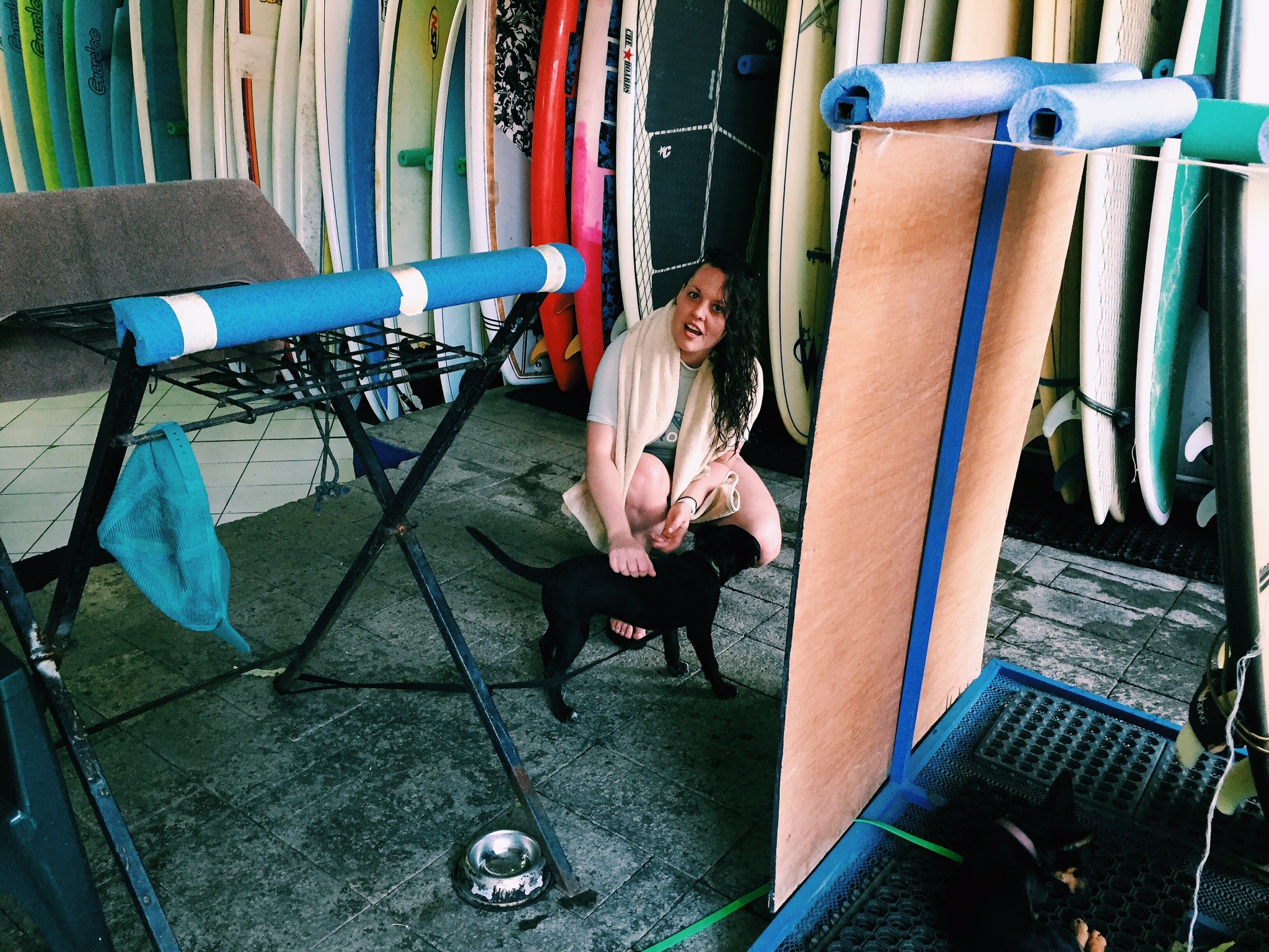 Kelly's surf shop