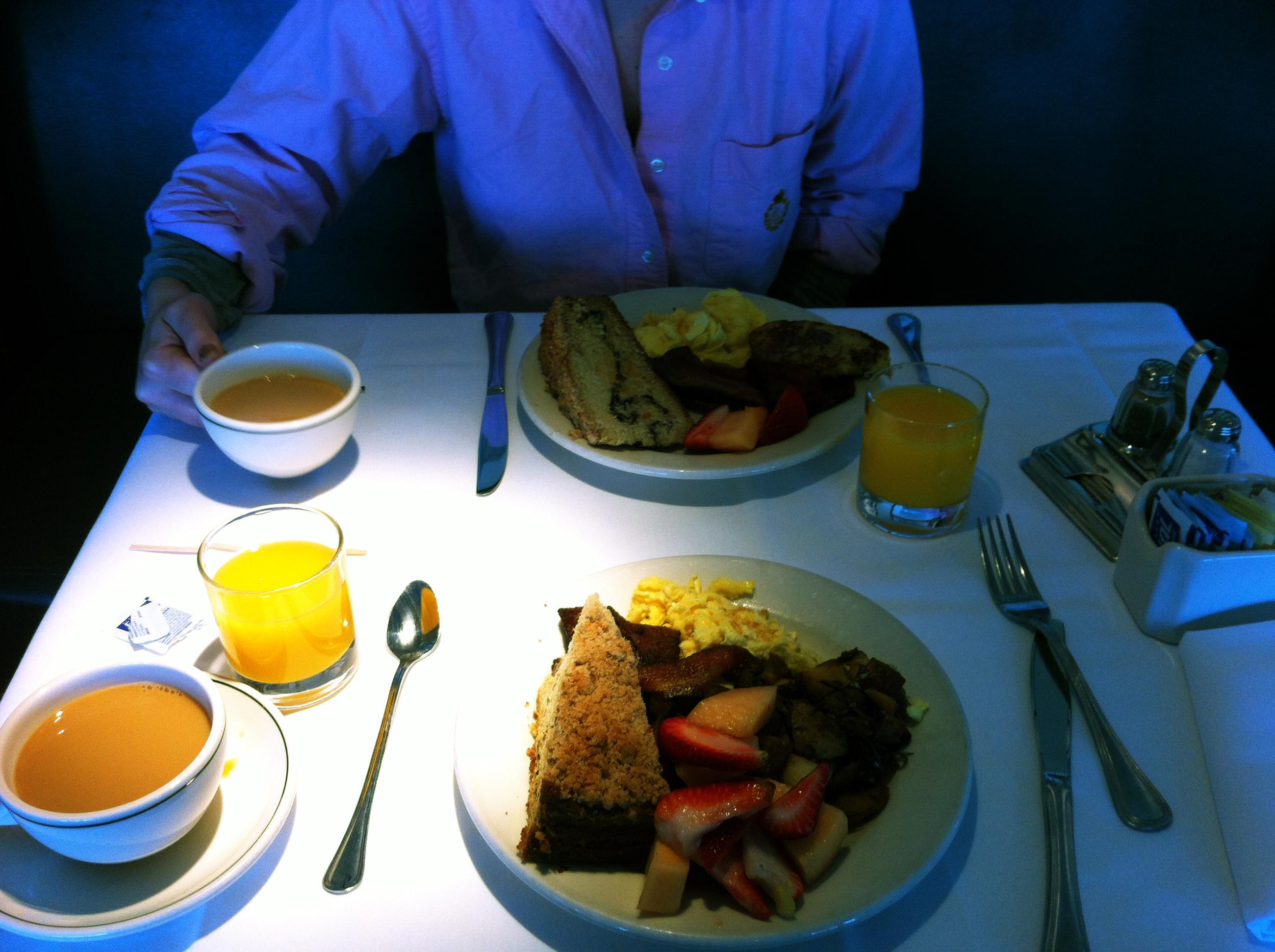The Pine Inn in Carmel, I love a good hotel breakfast!