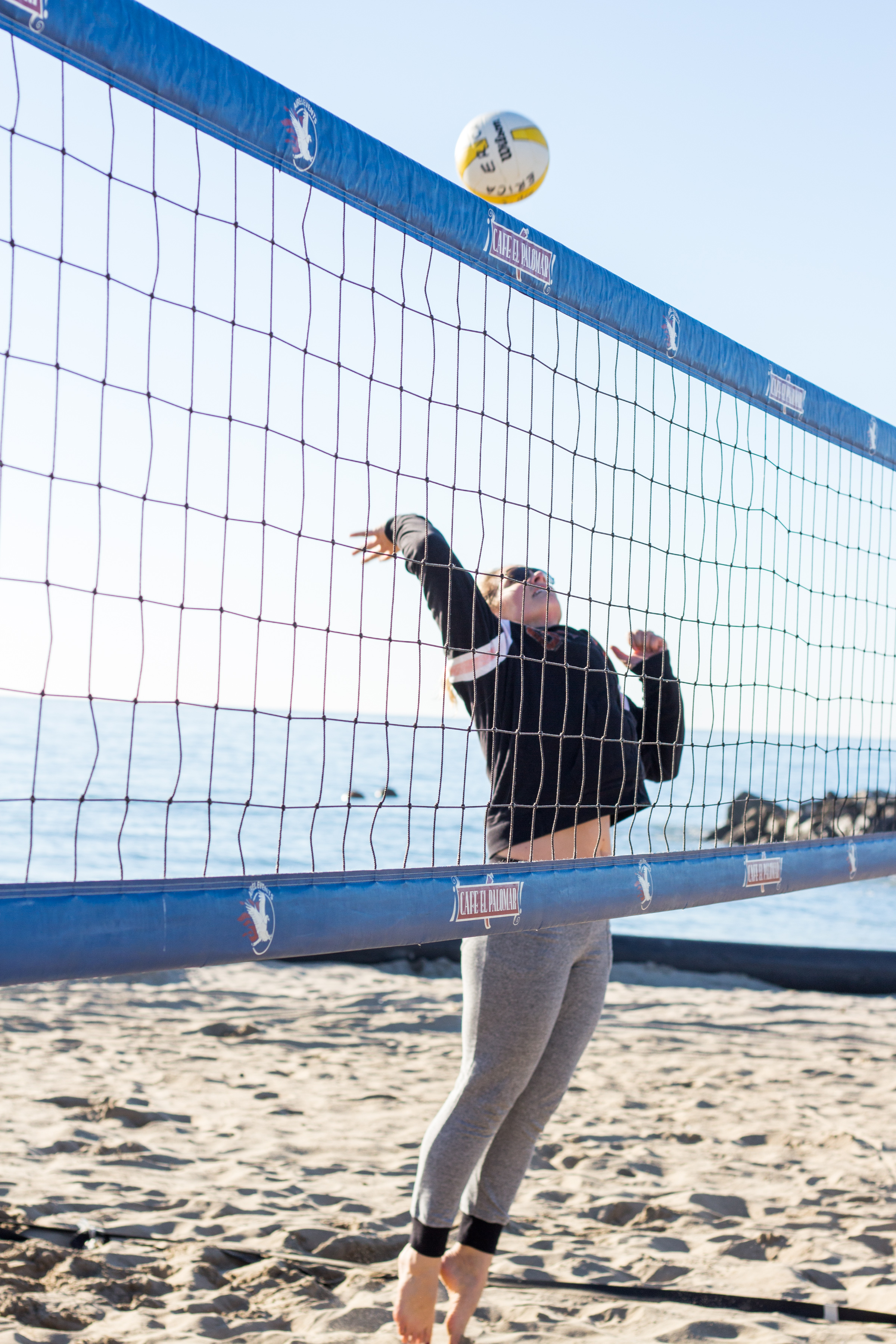 Make time for a little beach volleyball with friends. It's fun in the sun  and  a great weekend.