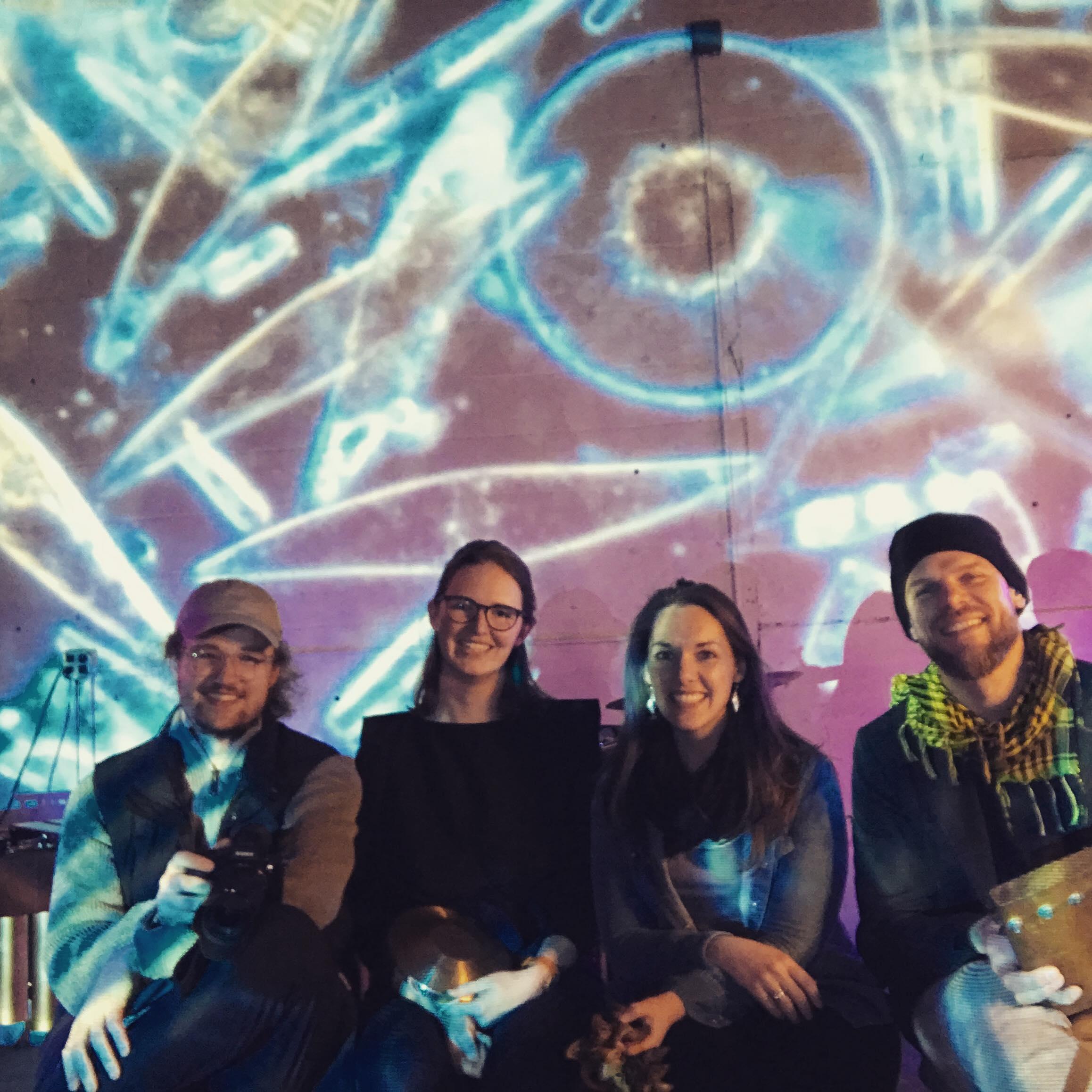 The Masary Studios team -Sam Okerstrom-Lang, Maria Finkelmeier and Ryan Edwards