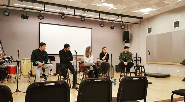 I crashed the Berklee College of Music Career Day to hear Maria talk on a panel about her entrepreneurial approach to life as a portfolio based musician.