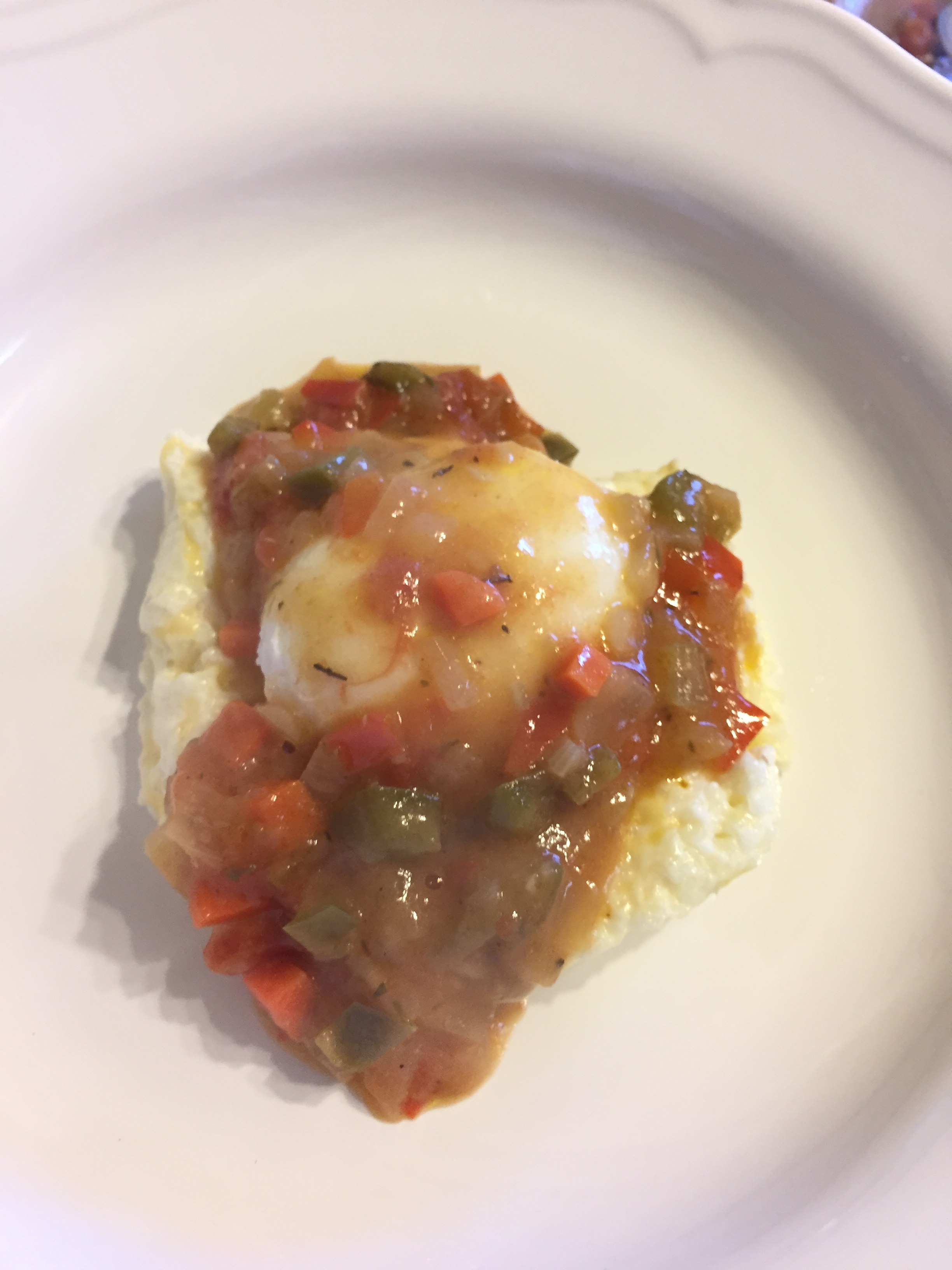 Grtis, Creole Sauce and Poached Egg.jpg