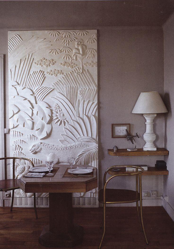 Sculptor Myriam Chataignere's Paris apartment