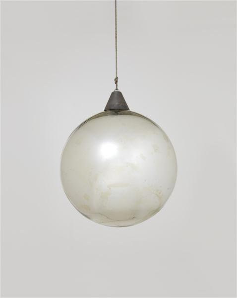 "Bauhaus Mirror ball for the ""Metallisches Fest,"" Dessau, ca. 1929"