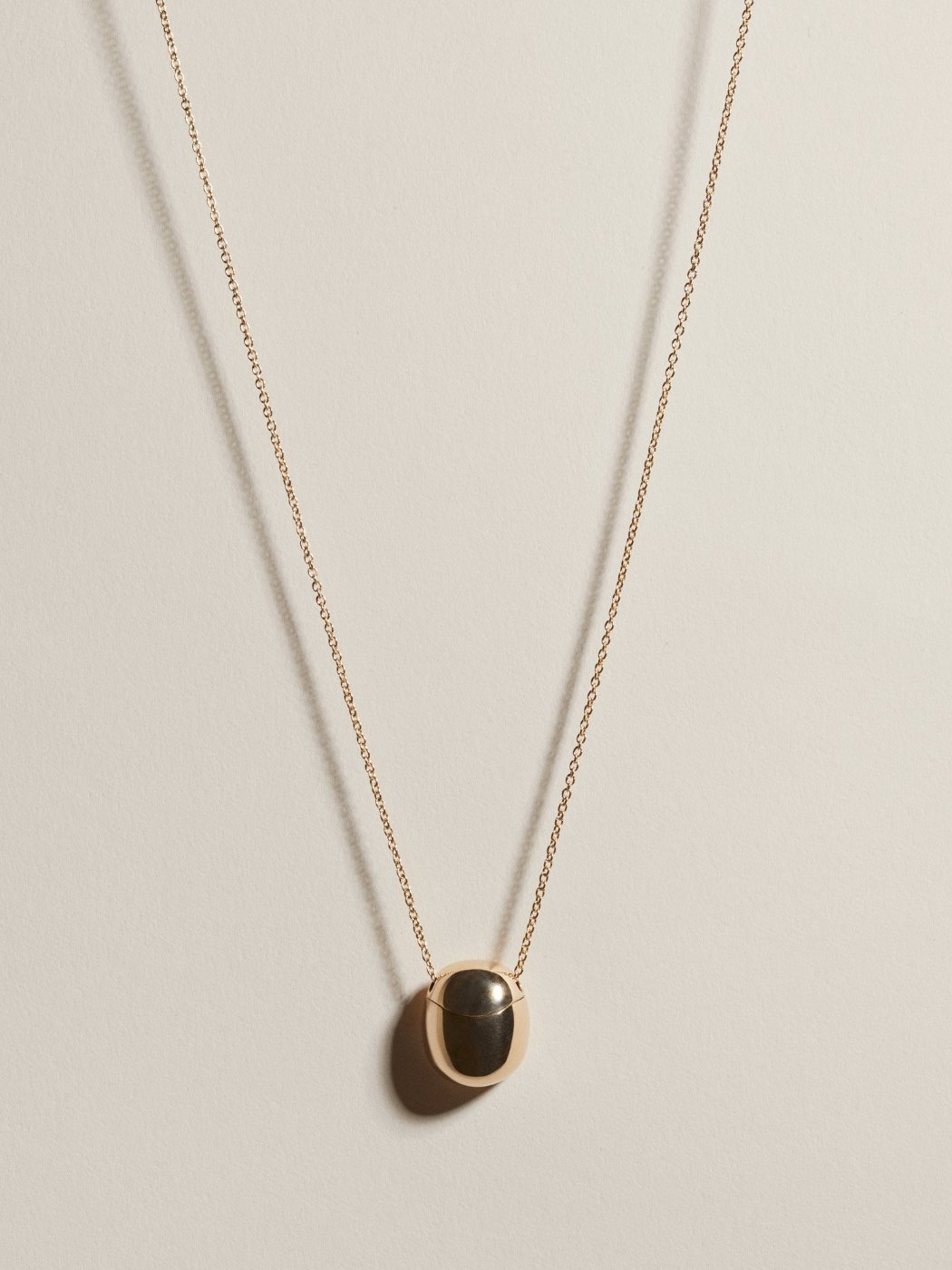 The newest JH arrival: a pendant for storing a secret memento