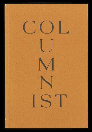 "Boris Rebetez, ""Columnist"" 2014"