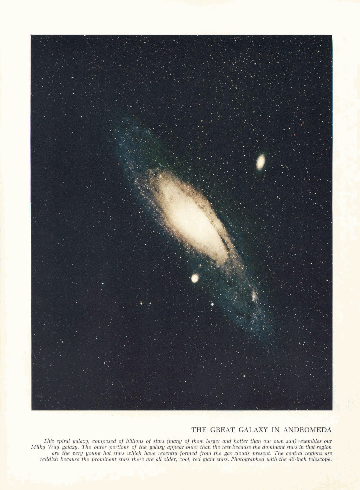 """From """"Color In The Universe,"""" c/o CalTech Library Archives."""